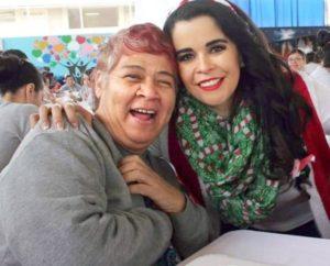 Consuelo Sánchez Osuna, procesada por homicidio calificado y violación impropia en contra de una menor de diez años de edad en Ensenada, en conpañia de la Sra. Brenda Ruacho de Vega